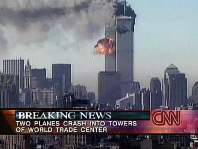 Sept. 11, 2001: breaking-news coverage