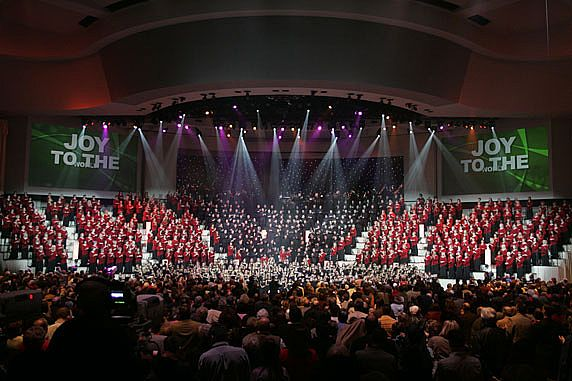 Megachurches put on megaproductions for the Christmasstory