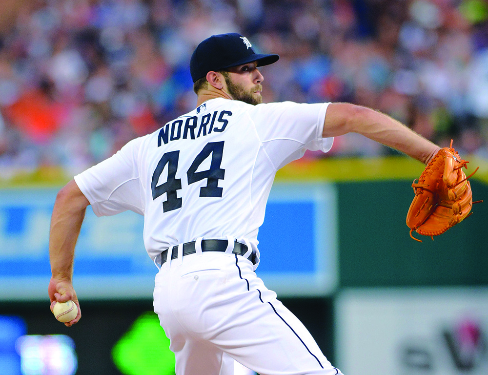 Why Detroit Tigers pitcher Daniel Norris was baptized in his baseballuniform