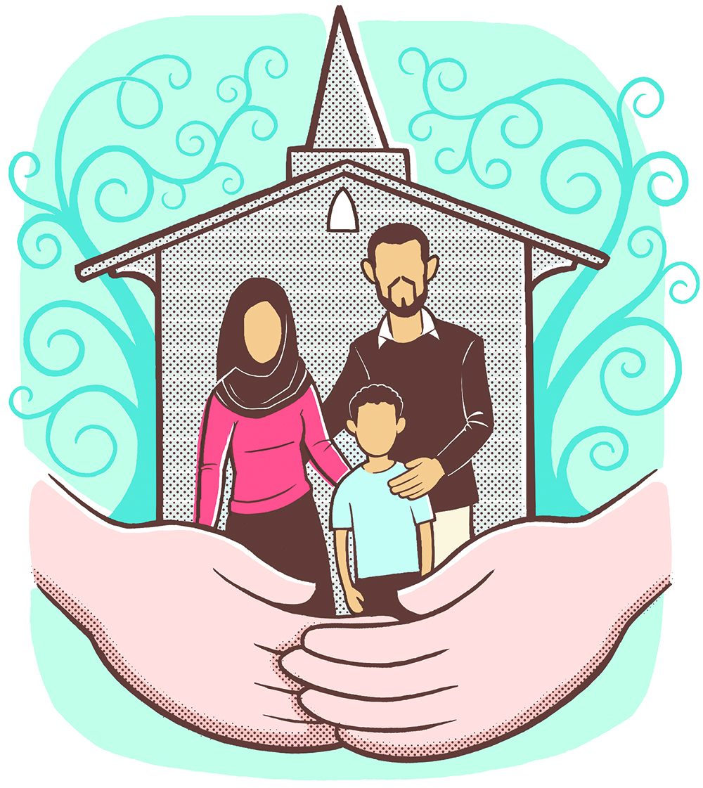 Canadian churches embrace Syrian refugees