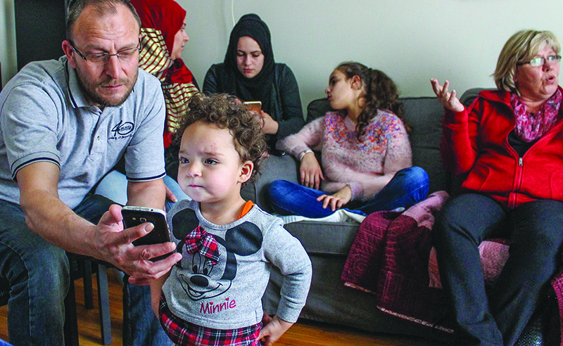 Syrian refugees find 'second family' in Canadian churches