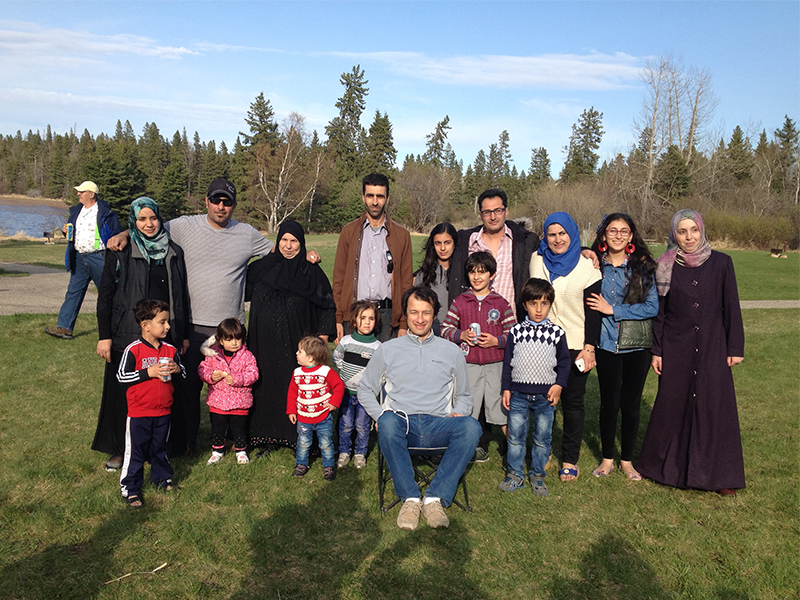 In rural Canada, churches that once shunned one another open their hearts to Syrian refugees