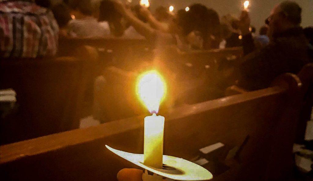 After massacre, a prayervigil